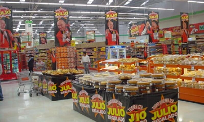 La campaña Julio Regalado aporta alrededor del 14% de las ventas anuales de Comercial Mexicana. (Foto: Cortesía de Comercial Mexicana)