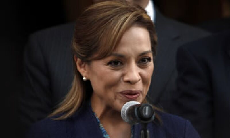 La candidata panista acudió a la invitación de la Universidad Iberoamericana.  (Foto: AP)
