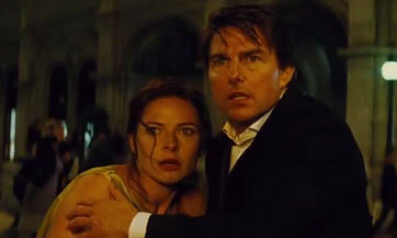 La película se estrena en México este jueves. (Foto: Youtube/Mission Impossible Rogue Nation )