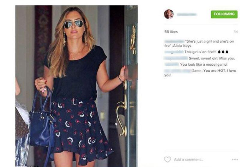 Aprovechando su fama, Christine quiere ser estrella de televisión, y además, tras lo sucedido con el Lexus, cerró su cuenta de Instagram, siendo este uno de sus últimos posts.