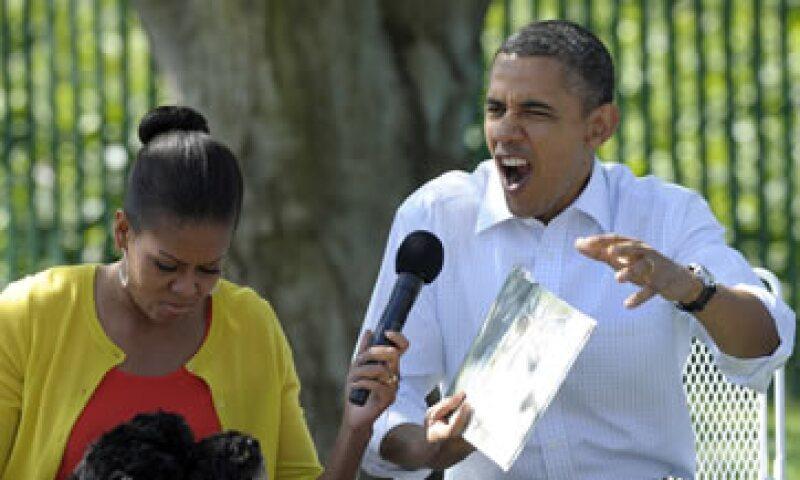 Hace dos años, el presidente y su esposa Michelle ganaron 1.7 millones de dólares. (Foto: AP)