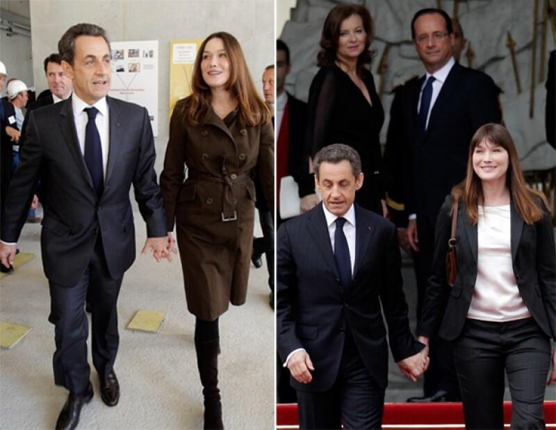 Bastó media década para que la ex primera dama de Francia conquistara el mundo de la moda, sin embargo sus atuendos fueron motivo de críticas, las cuales la llevaron a cambiar drásticamente.