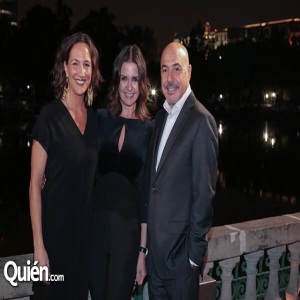 Mariana Baños, Mónica Quintero, Manuel Castro
