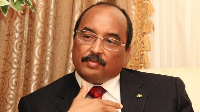 El presidente de Mauritania, Ould Abdel Aziz