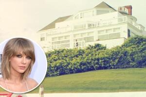 Taylor presumió su increíble residencia de Rhode Island el pasado fin de semana, en donde pasó el 4 de julio junto con sus amigas, y novio.