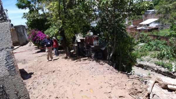 Deslave en Puebla