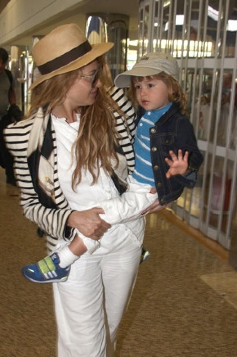 Pau dijo que es como cualquier madre que quiere sacar adelante a su hijo.