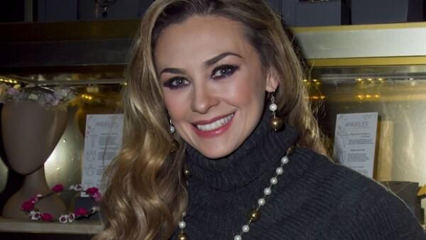Aracely Arámbula cumple 38 años.
