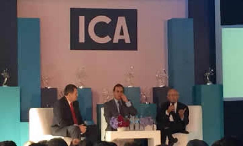 Sin Estado de Derecho no hay control de las invasiones en proyectos de construcción, advirtió el VP ejecutivo de Empresas ICA, Luis Zárate. (Foto: Ilse Santa Rita )