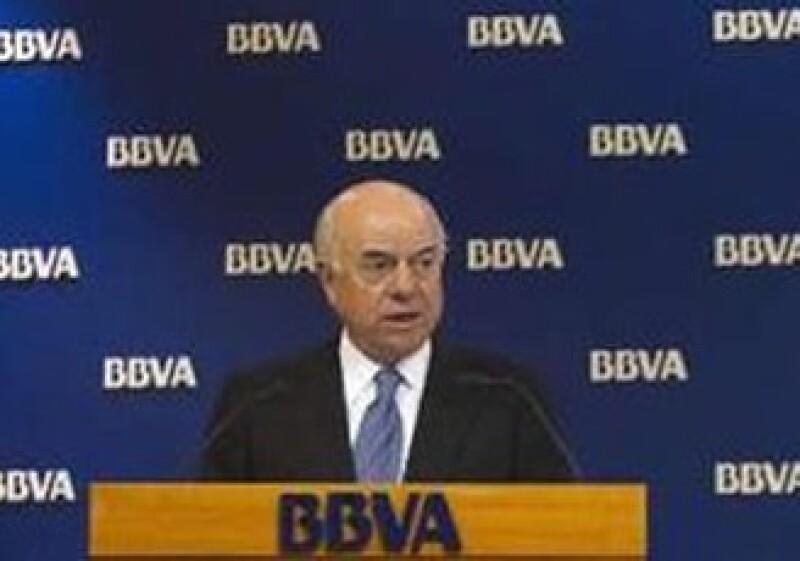 Francisco González, presidente de BBVA. (Foto: Reuters)
