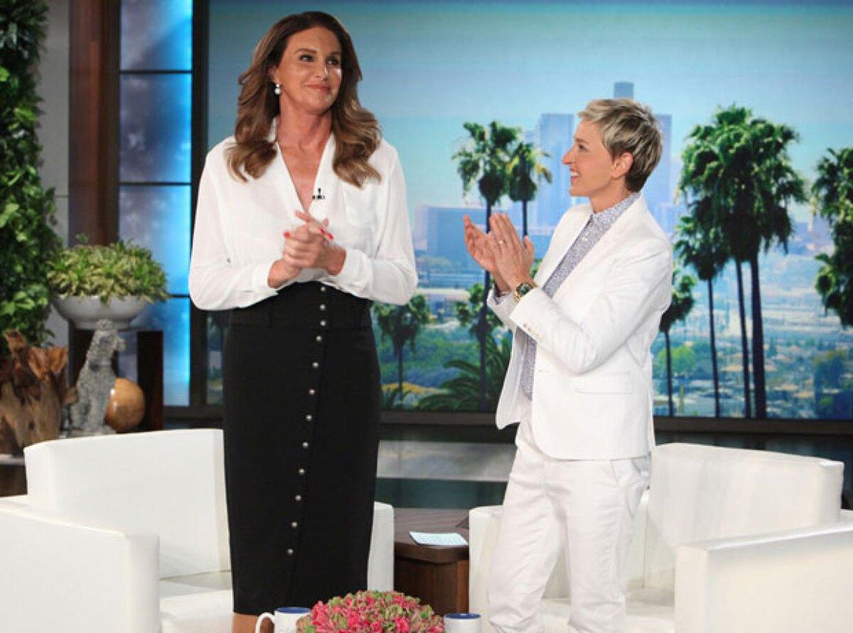 "Caitlyn Jenner admite a Ellen DeGeneres: ""No apoyaba el matrimonio gay"""