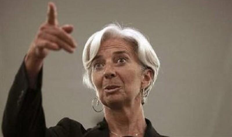 Christine Lagarde se coloca como la favorita para liderar el FMI, tras la renuncia de su compatriota, Dominique Strauss-Kahn. (Foto: Reuters)
