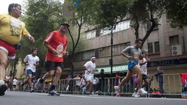 corredores maraton df