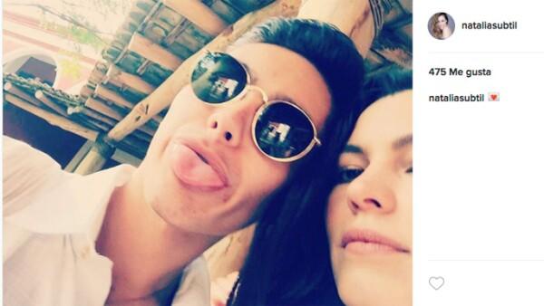 Natália Subtil y Sergio Mayer Mori