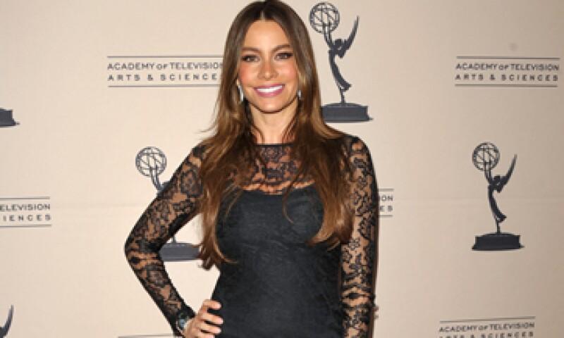 """""""No me da miedo ser exigente y ambiciosa si se trata de trabajo"""", dice Sofía Vergara, cuya serie de televisión estuvo nominada a 14 premios Emmy 2012. (Foto: AP)"""