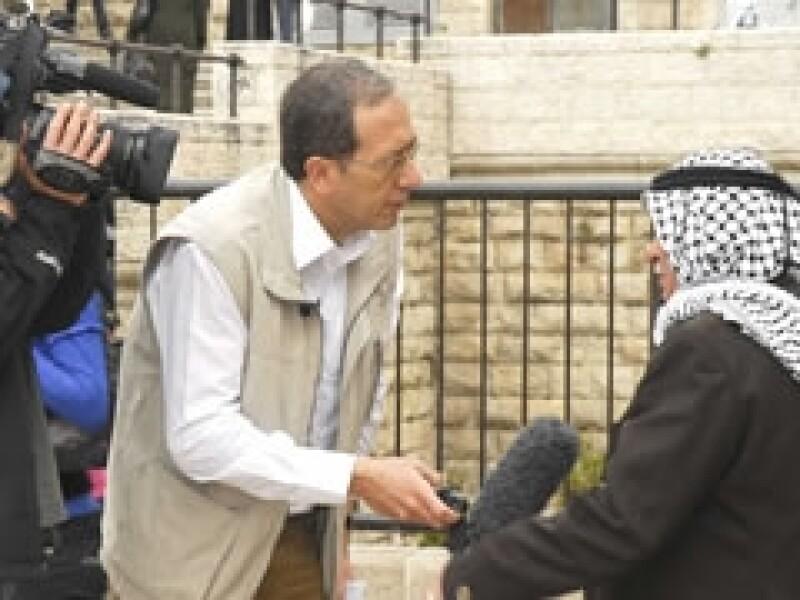 El periodista José Levy ha dedicado más de 20 años al conflicto en Medio Oriente. (Foto: Cortesía)