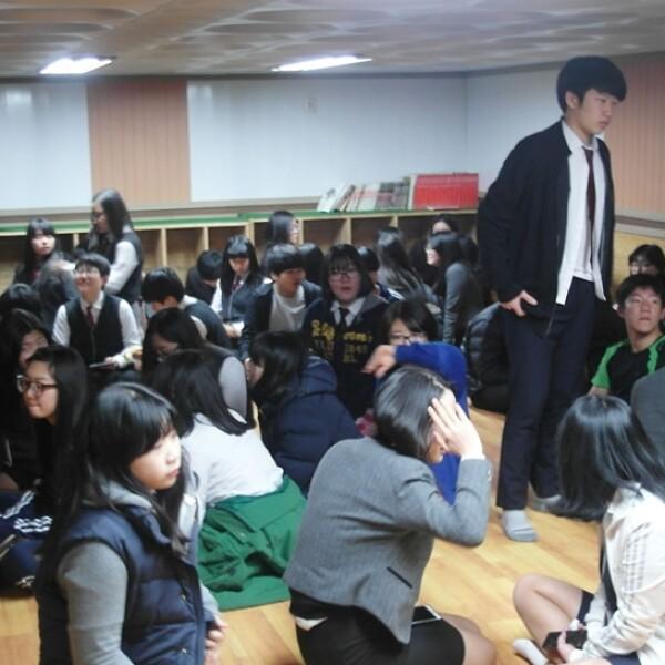 ejercicios Corea del Sur EU 8