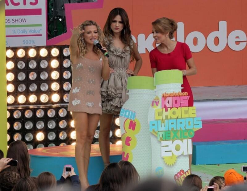Fanny Lu, Eiza González y Angelique Boyer provocaron los piropos del público masculino.