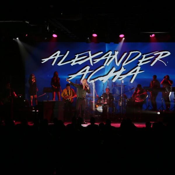Concierto de Alexander Acha en favor de Hombre- Naturaleza