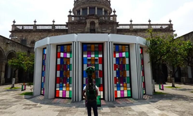 El Instituto Cultural Cabañas también ya se puede recorrer en Google Maps. (Foto: Cortesía Google México)