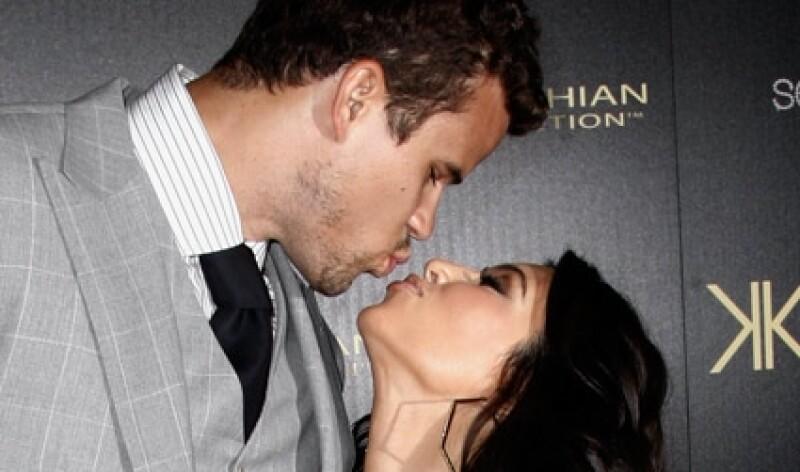 Kim y Kris comenzaron su relación en 2010.