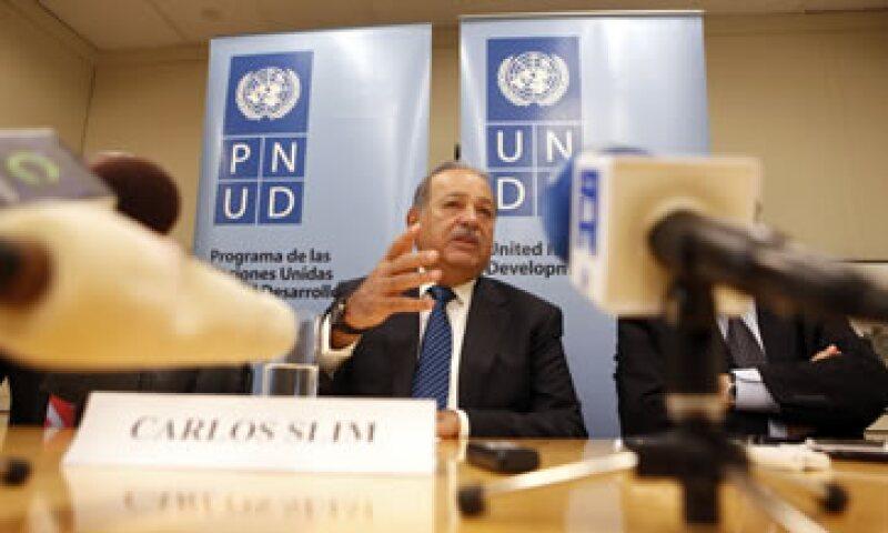 Bloomberg calcula que Carlos Slim tiene un patrimonio de 68,500 millones de dólares. (Foto: AP)