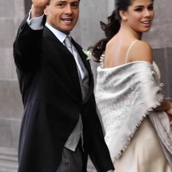Enrique Peña Nieto y Paulina Peña Pretelini