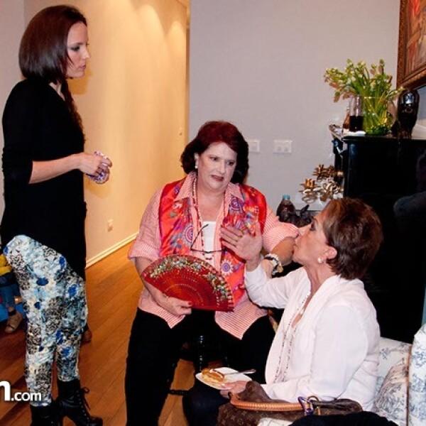 Natalia Fernandez, Bernadette Larrañaga y Chiqui Quintana