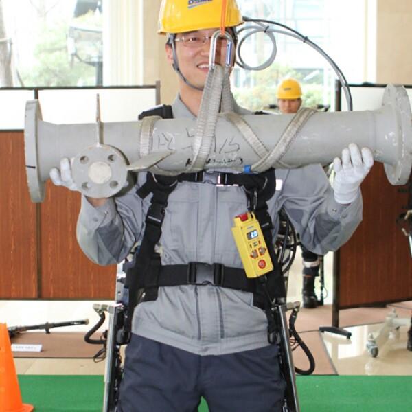 El traje rob�tico es un invento de la empresa DSME (Foto: DSME)