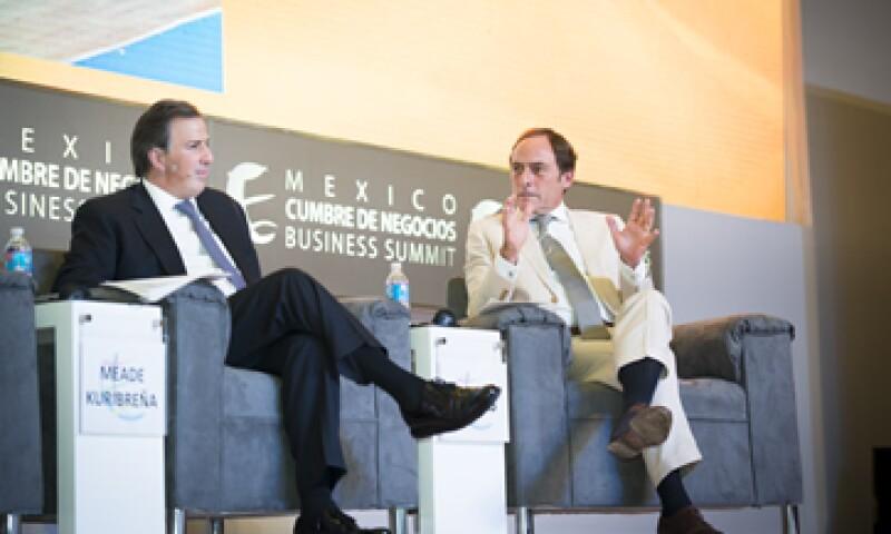 Paulo Portas (der.), viceprimer ministro de Portugal, dijo que las reformas son necesarias para avanzar. (Foto: Jesús Almazán )