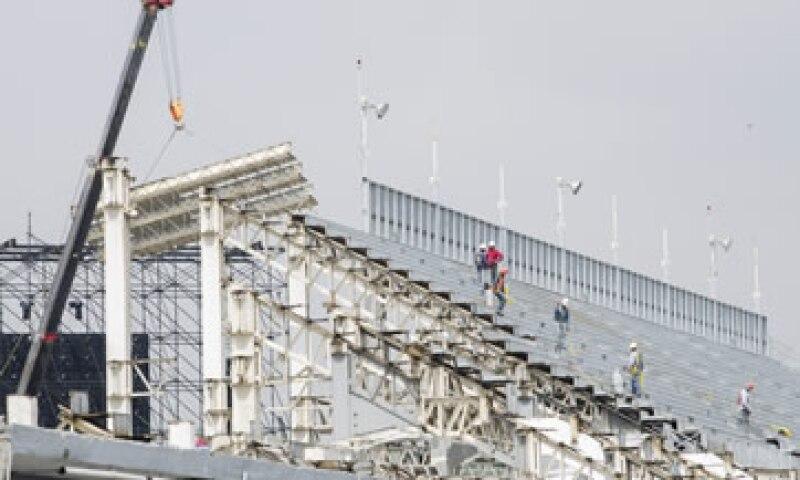 El Autódromo de los Hermanos Rodríguez es remodelado para recibir el evento de la Fórmula 1. (Foto: Cuartoscuro)