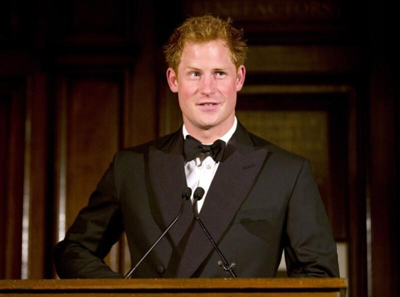Príncipe Harry, principal patrocinador de WellChild.