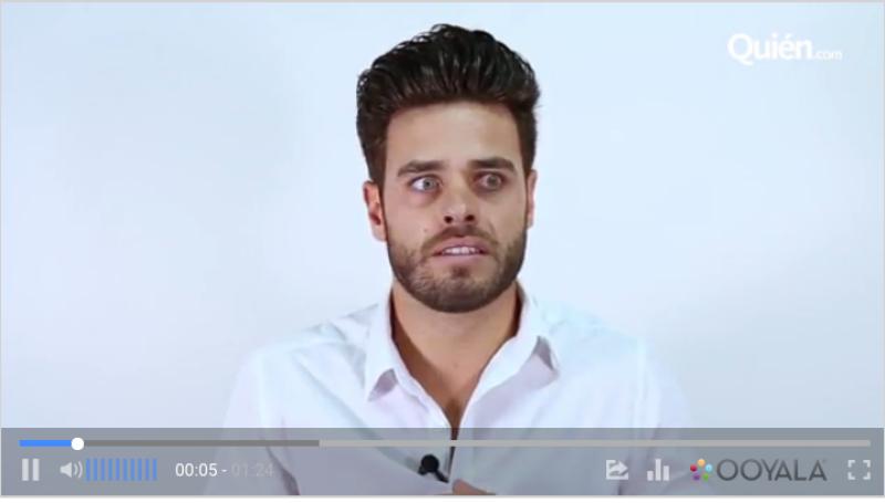 El español adoptado por México, responde a nuestras preguntas diversas y nos deja ver un poquito más de la personalidad detrás del actor.