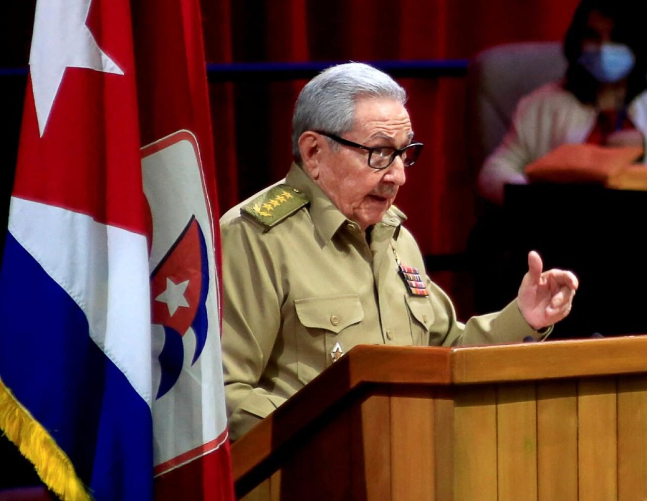 Raúl Castro abandona la dirigencia del Partido Comunista de Cuba