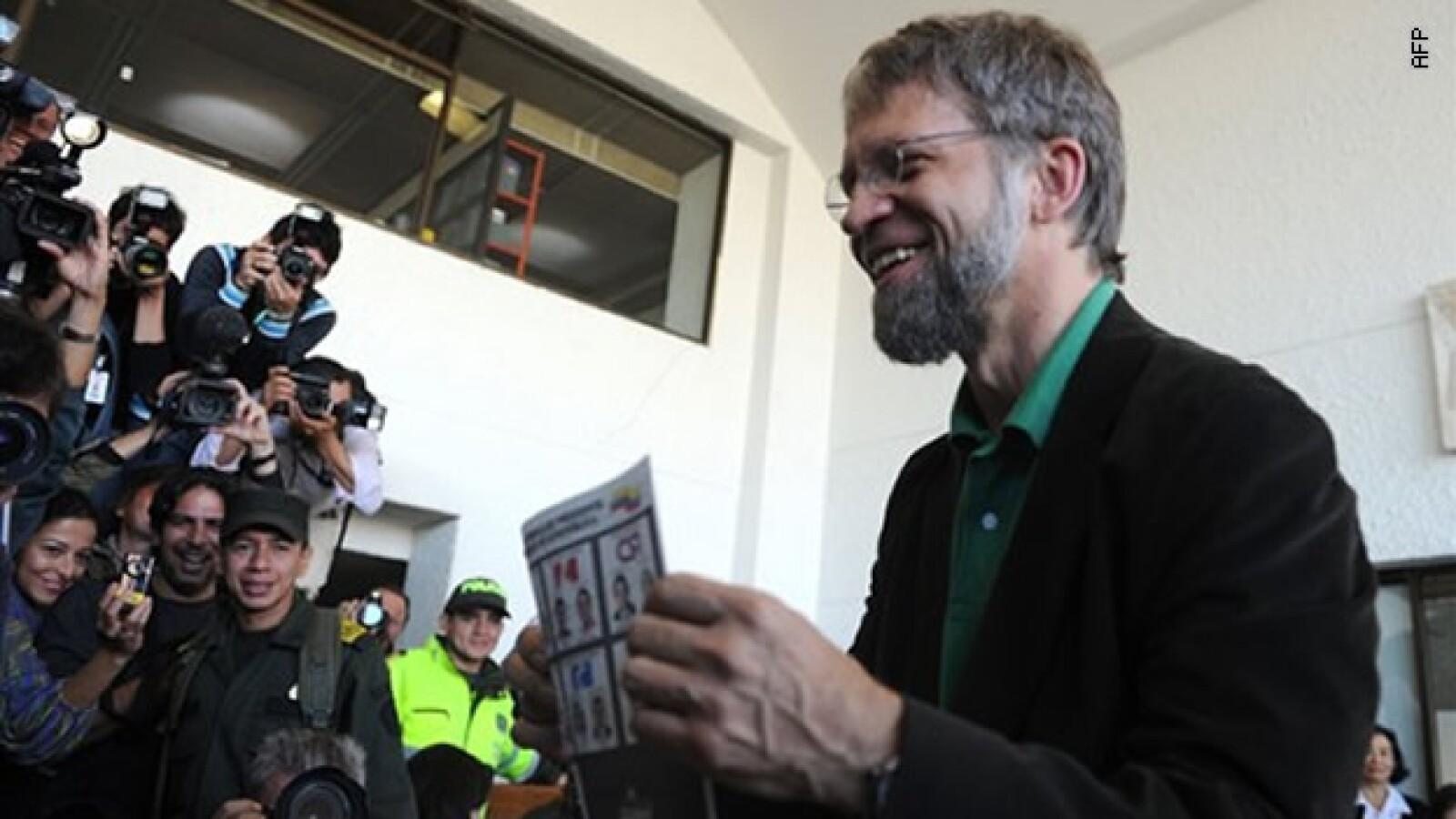 Voto de Mockus AFP