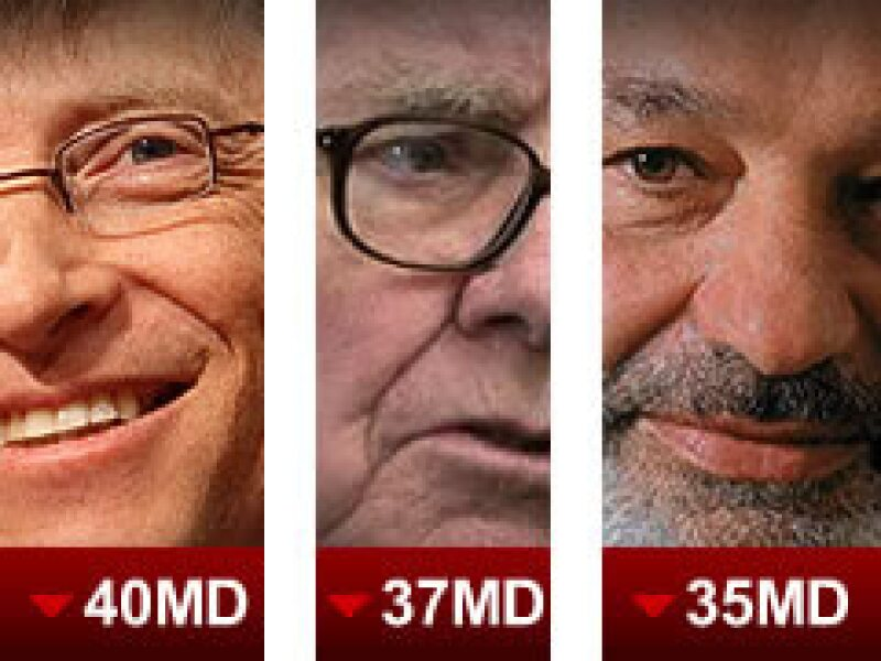 Gates recuperó su lugar como el más rico del mundo en el ranking de Forbes. (Foto: Especial.)