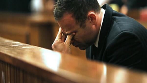 Pistorius fue encontrado culpable de homicidio culposo.
