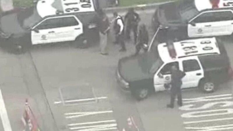 El tiroteo requirió la rápida respuesta de la policía.