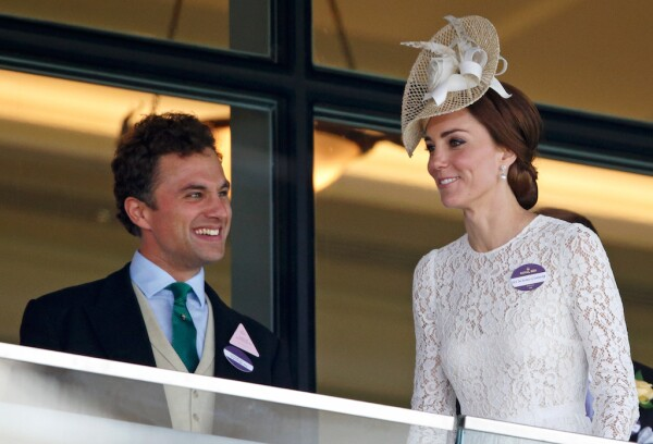 Thomas van Straubenzee y Kate Middleton