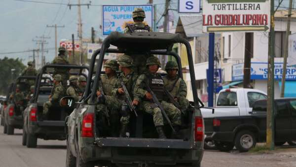 Militares en Tamaulipas