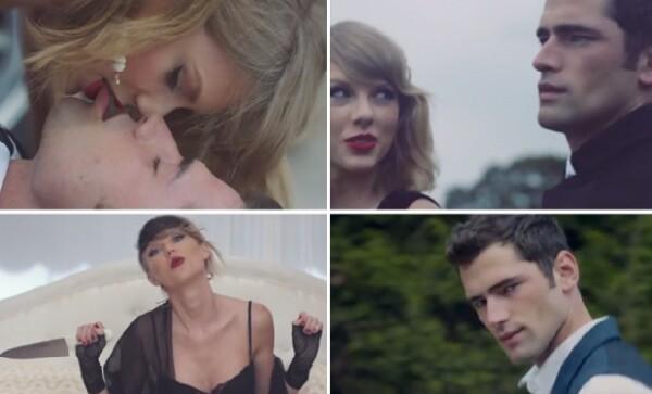 Tanto Taylor como Sean reflejan elegancia, belleza y sensualidad.