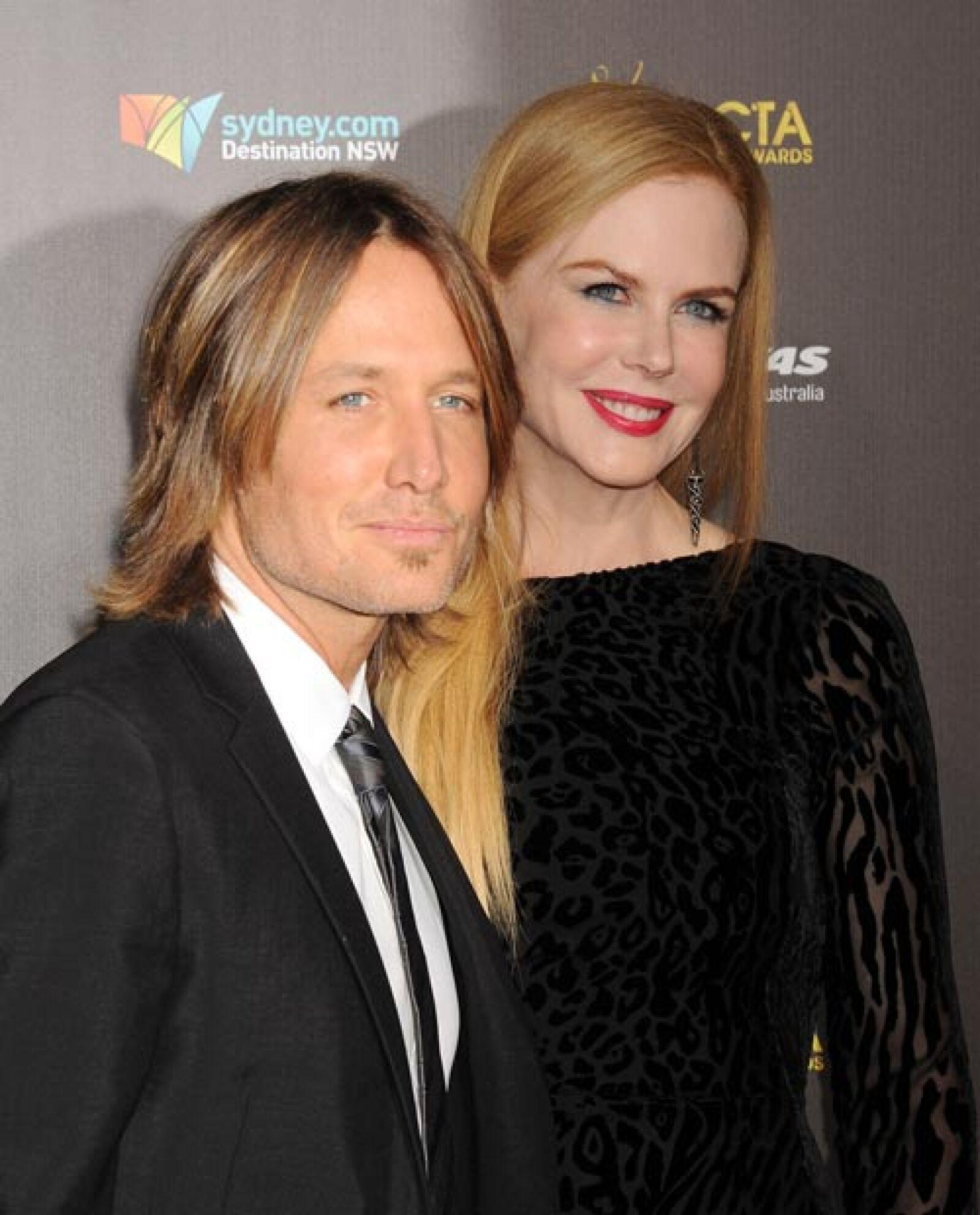 Nicole Kidman y Keith Urban.