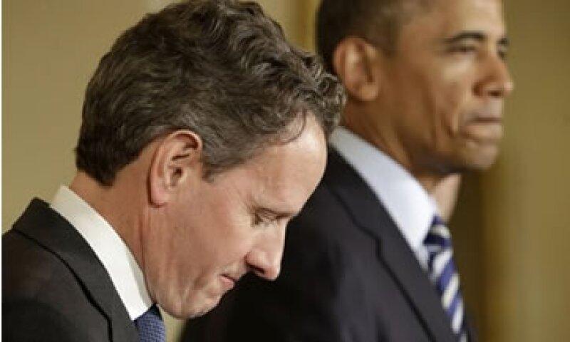 Geithner será sustituido por Jack Lew en el Tesoro de EU.  (Foto: AP)