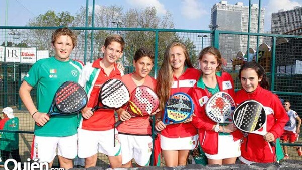 Jorge Herrera,Javier Villazón,José Manuel Mustieles,Alejandra Tchernychova,Nicole Caballero y Beñoa Ortiz