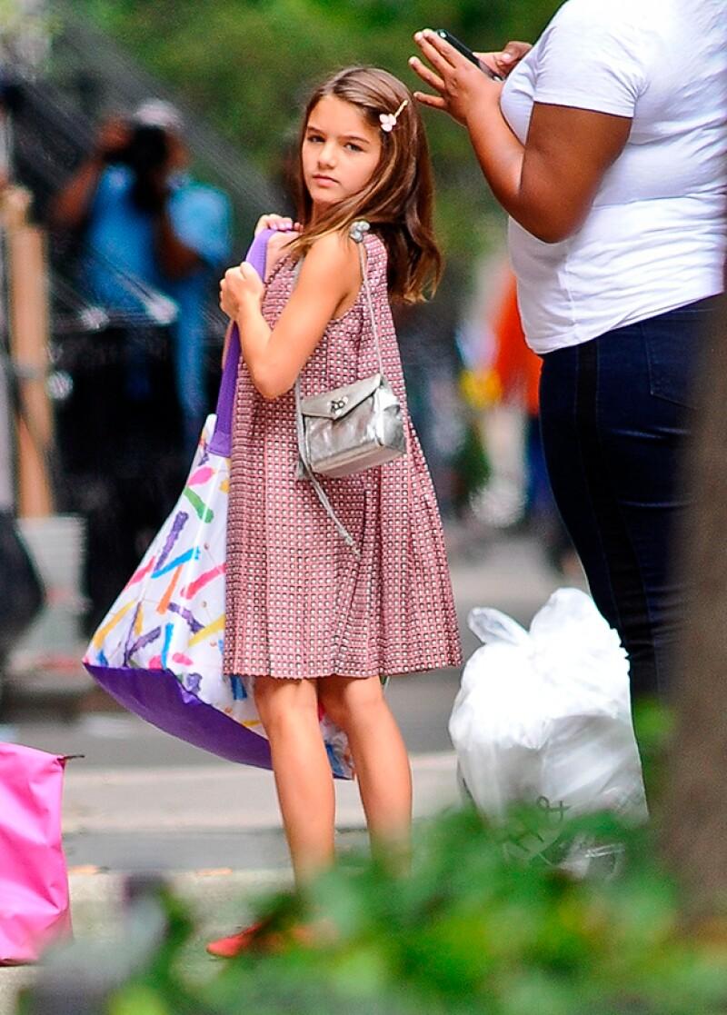 """La hija de Tom Cruise y Katie Holmes dejó de recibir clases de guitarra por tener """"diferencias creativas"""" con ella."""
