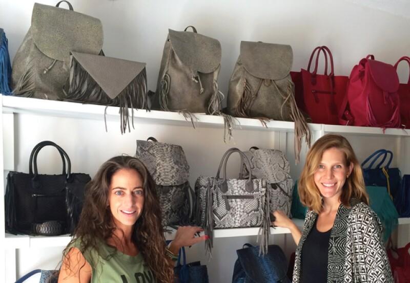 Platicamos con las socias Ilana Kraus y Rosine Kalach, creadoras de los productos de piel y accesorios tanto para hombre como para mujer.Conoce su historia.