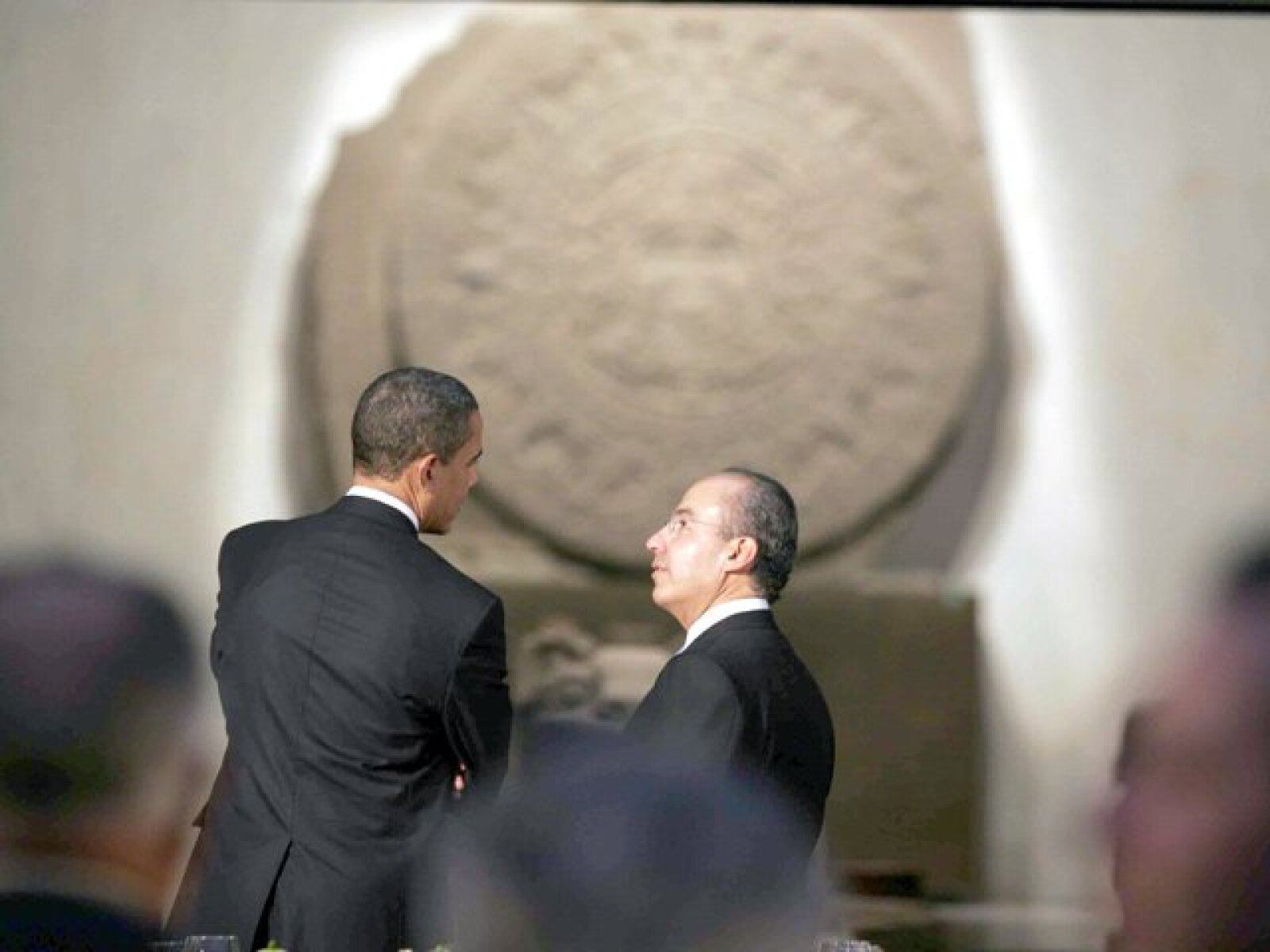 presidentes de mexico y estados unidos hablando