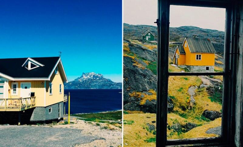 Hace apenas un día, Montserrat Oliver y su partner in crime, Yaya Kosikova, arribaron a Groenlandia.