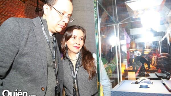 Alejandro Márquez y Diana Romero