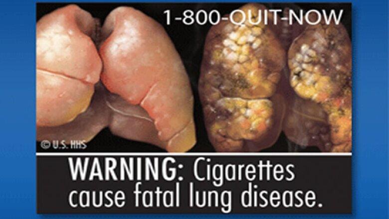 Las explícitas fotos buscan ilustrarle al consumidor los efectos nocivos de fumar.